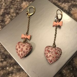 Betsy Johnson Dangling Earrings